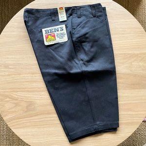 NWT Ben Davis Original Canvas Twill Workwear Short